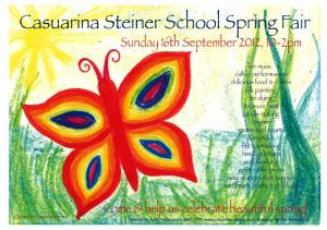 Casuarina Steiner School Spring Fair